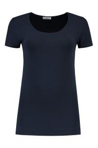 Basic Lang T-shirt - Navy