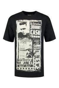 Replika Jeans T-Shirt - Johnny Cash