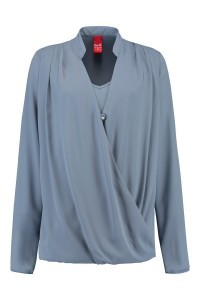 Only M - Bluse Icy Blue