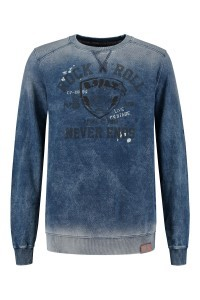 Kitaro Sweater - Denim Medium Blue