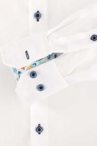 Venti Modern Fit Hemd - Struktur Weiss