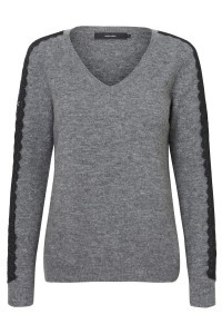 Vero Moda Tall - Pullover mit Spitze