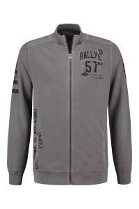 Kitaro Sweat Jacke - Rallye Grey