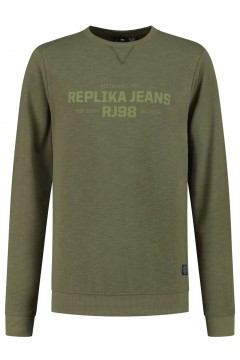 Replika Jeans Sweater - Replika RJ98 Olive Green