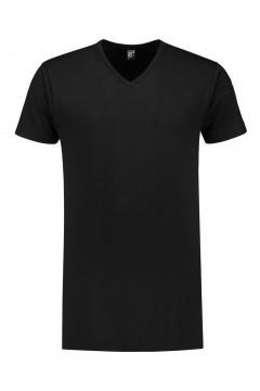 Alan Red T-Shirt - Vermont Schwarz Extra Lang