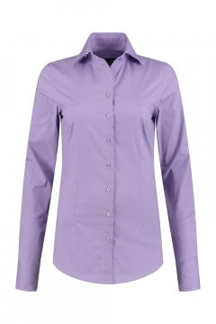 Sequoia - Basic Bluse Violett