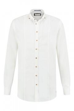 Blue Crane Tailored Fit Hemd - Weiß