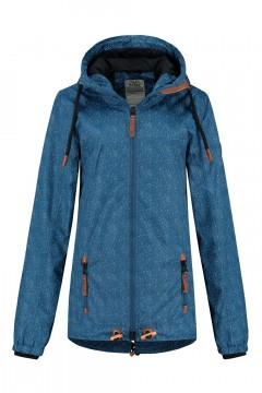 Brigg Outdoor Jacke - Blau Gesprenkelt