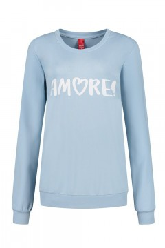 Only M - Pullover Amore Hellblau