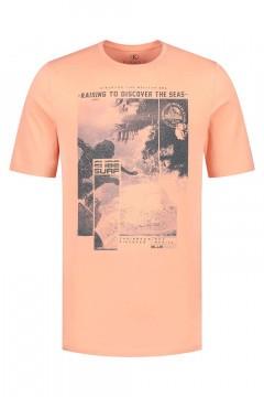Kitaro T-Shirt - Raising Orange