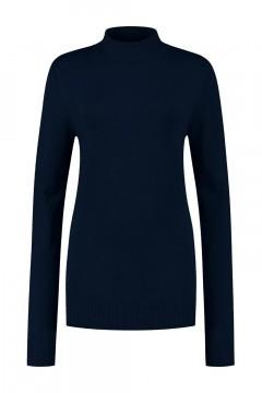 Casa Mia - Basic Pullover Dunkelblau