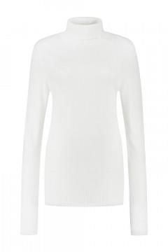 Casa Mia - Basic Rollkragenpullover Off White