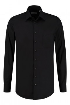 Ledûb Modern Fit Hemd - Black