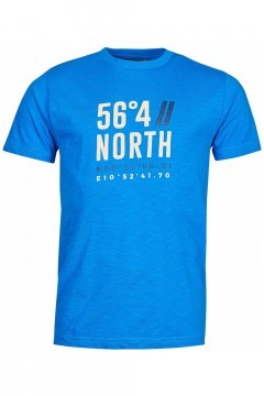 North 56⁰4 T-shirt - Coordinates Royal