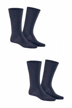 Kunert - Comfort Wool 2-Pack Navy