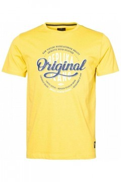 Replika Jeans T-shirt - Raw Vintage Gelb