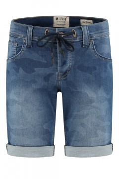 Mustang Jeans Chicago - Camo Denim Blue