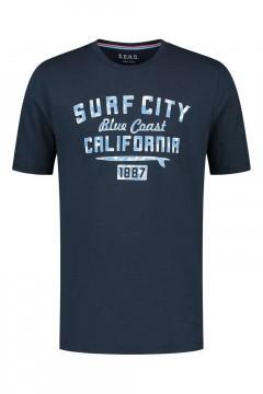 SOHO T-Shirt - Surf City Navy