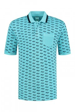 SOHO Poloshirt - Palm Aqua