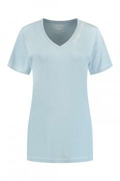 SOHO V-Ausschnitt Shirt - Future Skyline