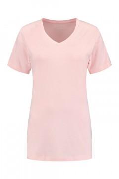 SOHO V-Ausschnitt Shirt - Future Light Rose