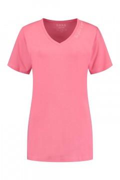 SOHO V-Ausschnitt Shirt - Future Candy Pink