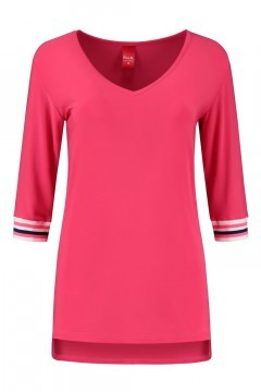 Only M - Lockere Top Rosa