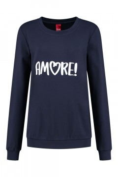 Only M - Pullover Amore Dunkelblau