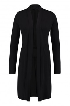 Chiarico - Strickjacke Long Schwarz