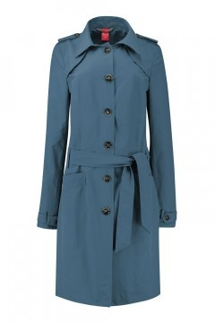 Only M Trenchcoat - Imprime Blau