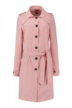 Only M Trenchcoat - Imprime Rosa