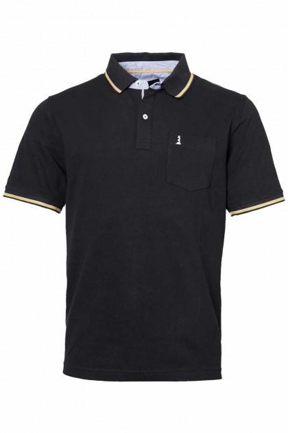 North 56˚4 Poloshirt - Schwarz