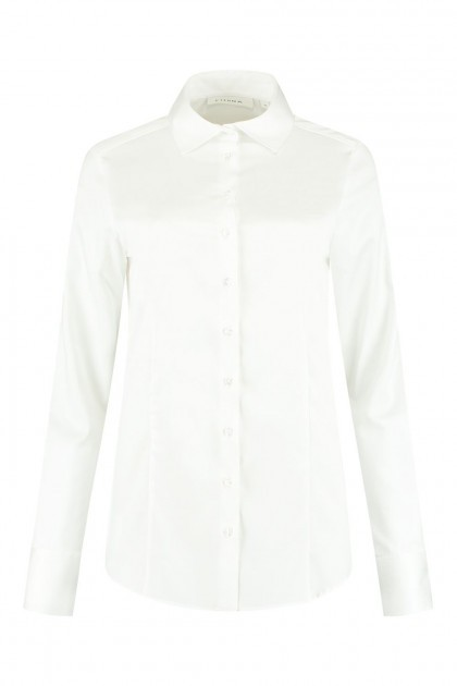 Eterna - Bluse Basic Weiß