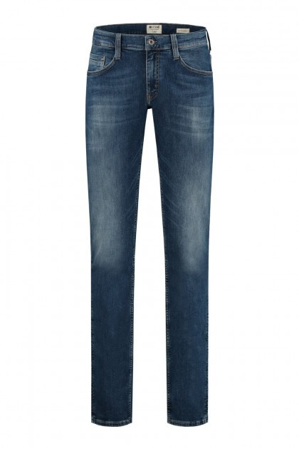 Mustang Jeans Oregon Tapered - Denim Blue Used