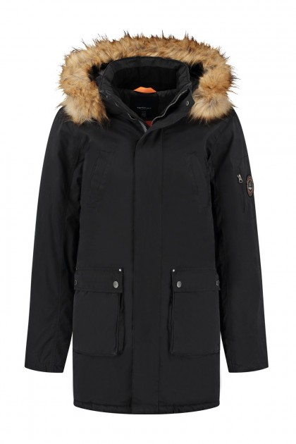 North 56˚4 - Winterjacke Parka Schwarz