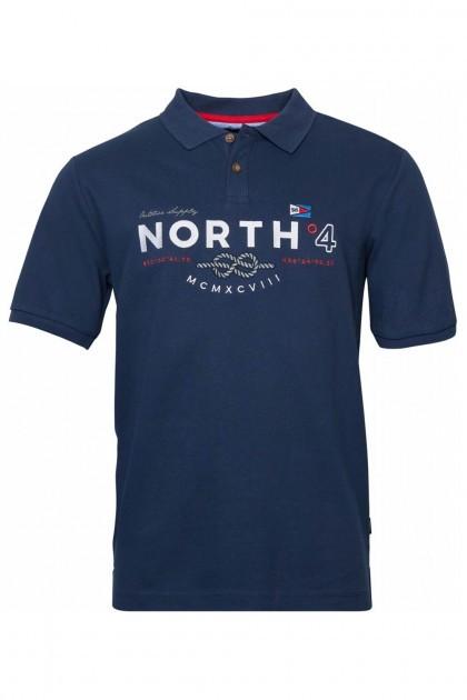 North 56˚4 Poloshirt - Knot Navy