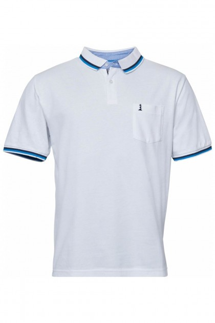 North 56˚4 Poloshirt - Lighthouse White