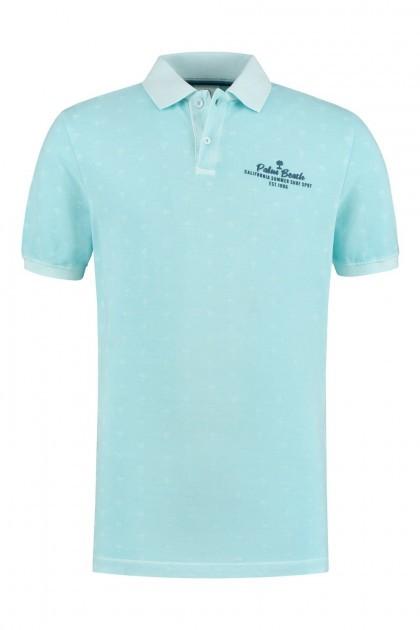 Kitaro Poloshirt - Palm Beach Blue