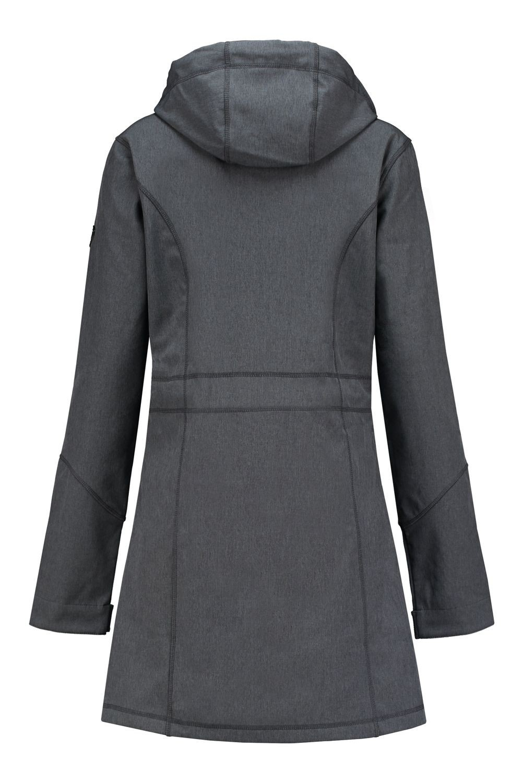 Brigg Softshell Jacke Marineblau, extra lang | Highleytall®