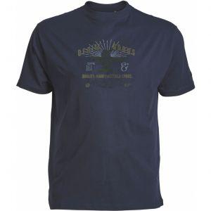 Replika Jeans T-Shirt - Denim Goods Navy