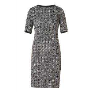 Yest Kleid - Muster Schwarz/Weiß