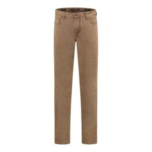 Alberto Jeans Pipe - Brown Twill