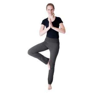 We Love Long Legs - Yogahosen dunkelgrau