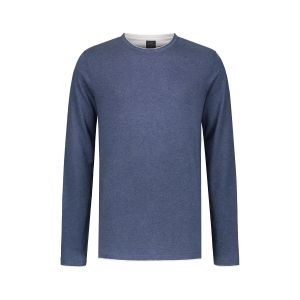 Kitaro Pullover - Basic Blau