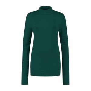 Casa Mia - Basic Pullover Dunkelgrün
