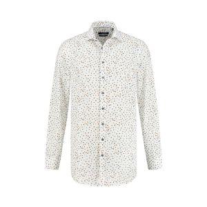 Ledûb Modern Fit Hemd - Warm Dots
