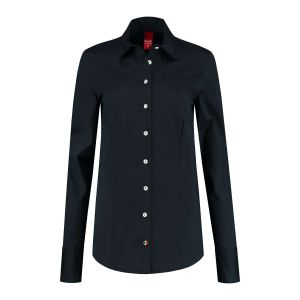 Only M - Bluse Basic Navy