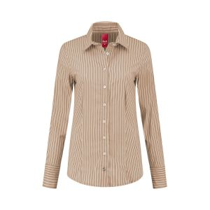 Only M - Bluse Righe Brown