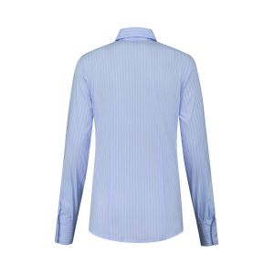 Only M - Bluse Righe Blue