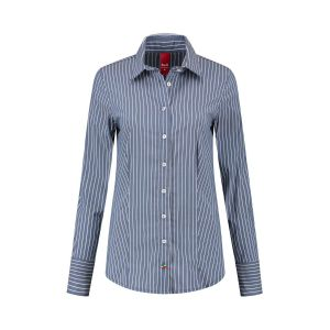 Only M - Bluse Righe Navy